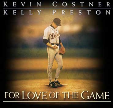 VHS / VCR Tape Movie: For The Love Of The Game -Starring ...