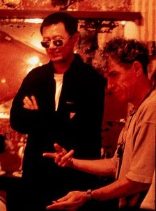 Director Wong Kar-wai and cinematographer Christopher Doyle
